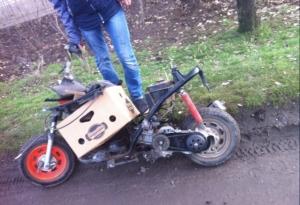 Скутер 50 кубов на запчасти или под ремонт Таганрог