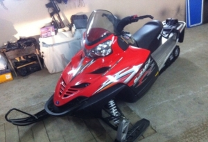 Снегоход Polaris Switchback turbo 750 2007 г. в Дмитров