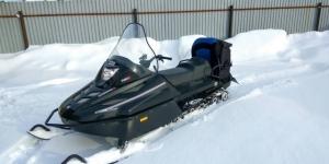 Продам снегоход Русская механика Тайга Варяг 500 Иркутск
