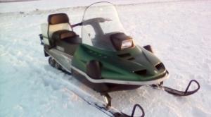 Снегоход Yamaha et 410 enticer Казань