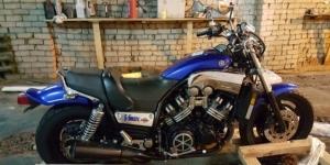 Продам мотоцикл Yamaha v-maks Москва