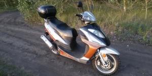 Скутер ABM 150 куб Красноярск
