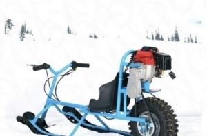 Снегоход снегокат детский с бензиновым мотором Тюмень