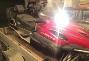 Продам Yamaha Viking 10D RS Professional c телегой Новосибирск