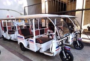 Электрический трицикл - Рикша (Тук-Тук) Сочи