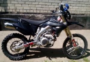 Продаю мотоцикл Форсаж 450 эндуро Новопавловск