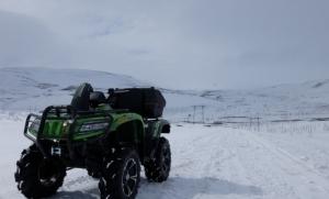 Квадроцикл Arctic Cat 700i MudPro LTD Норильск