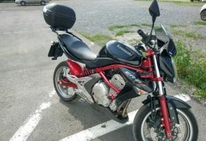 Продам мотоцикл Kawasaki er6n Кемерово