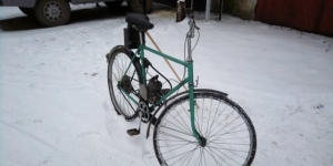Велосипед с мотором Тверь